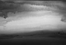 Handgemalter Hintergrund des abstrakten Aquarells Stockfotografie