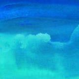 Handgemalter Hintergrund des abstrakten Aquarells Lizenzfreies Stockbild