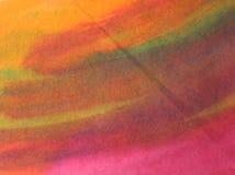 Handgemalter Hintergrund des Aquarells Lizenzfreies Stockbild