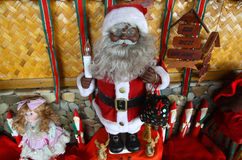 Handgemalter Weihnachtsmann Stockfoto