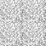 Handgeschriebenes Zeichen Stockbild