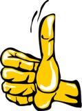 Handgeste, die o.k. sagt Lizenzfreies Stockfoto