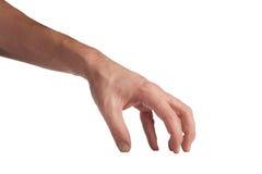 Handgeste: Nehmen Lizenzfreies Stockfoto