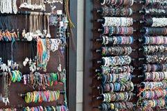 Handgjord afrikansk beadwork Royaltyfri Foto
