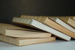 Handgjord anteckningsbok Arkivfoton