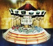 Handgjord antik karusell Royaltyfria Foton