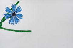 Handgjord blomma Fotografering för Bildbyråer
