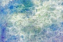 Handgjord bubblaGrunge Royaltyfria Bilder