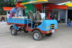 handgjord cambodia bil Arkivfoton