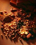 handgjord choklad Arkivbild