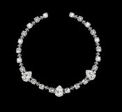 Handgjord crystal halsband Royaltyfria Bilder