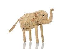 Handgjord elefant Fotografering för Bildbyråer