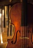 Handgjord fiol Royaltyfri Bild