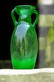 Handgjord glastillverkning Arkivbilder