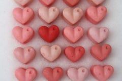 Handgjord hjärtatvål Fotografering för Bildbyråer