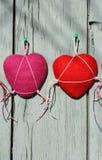 Handgjord hjärtatvål Royaltyfri Foto