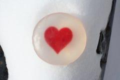Handgjord hjärtatvål Royaltyfria Foton