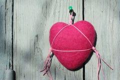 Handgjord hjärtatvål Royaltyfria Bilder