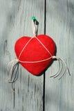 Handgjord hjärtatvål Royaltyfri Fotografi