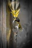 Handgjord keychain Fotografering för Bildbyråer