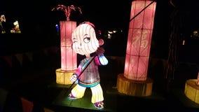 Handgjord kinesisk lykta Fotografering för Bildbyråer