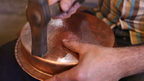 Handgjord krukmakeri lager videofilmer