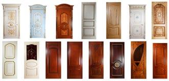 handgjord lyxset för dörrar Arkivfoton