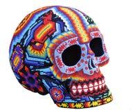 handgjord mexikansk skalle för calavera Royaltyfria Foton