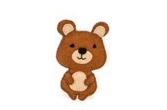 handgjord Nalle-björn Arkivfoton