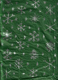 handgjord paper snowflakeinpackning Arkivbild