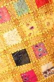 handgjord patchwork Arkivbild