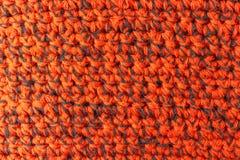 Handgjord röd handarbetetexturbakgrund Arkivbilder