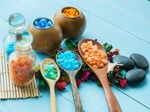 Handgjord Sugar Peach Scrub With Argan olja handgjord tvål Himala Royaltyfria Bilder