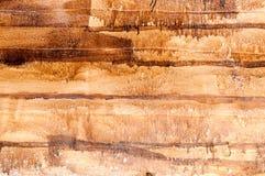 Handgjord textur av målarfärgträplankan Arkivbilder