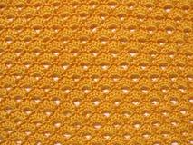 handgjord textur för virkning Arkivbilder
