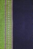 Handgjord thailändsk bomulls-/tygbakgrund, abstrakt begrepp Royaltyfria Foton