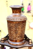 Handgjord träkruka Royaltyfri Fotografi