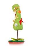 handgjord tree för jul Arkivbild
