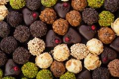 Handgjorda choklader Royaltyfri Fotografi