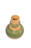 Handgjorda Colourfeul Clay Pottery Royaltyfria Foton