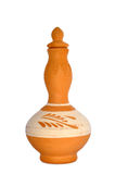 Handgjorda Colourfeul Clay Pottery Arkivfoto