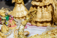 handgjorda dockor royaltyfria bilder