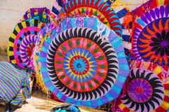 Handgjorda drakar, all helgondag, Guatemala Arkivbilder