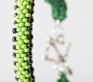 Handgjorda eleganta smycken Royaltyfri Fotografi