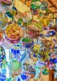 Handgjorda glass bollar royaltyfri fotografi