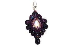 Handgjorda härliga märkes- smycken Royaltyfri Foto