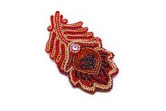 Handgjorda härliga märkes- smycken Arkivbild