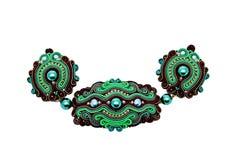 Handgjorda härliga märkes- smycken Royaltyfri Bild