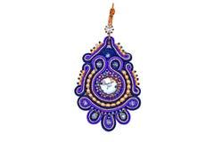 Handgjorda härliga märkes- smycken Royaltyfria Foton