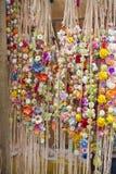 Handgjorda kransar av blommor Royaltyfria Bilder